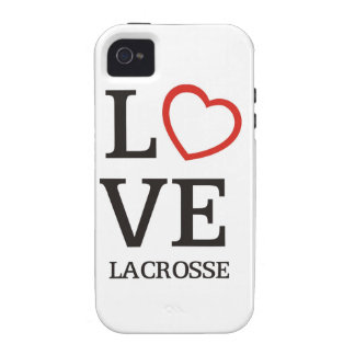 Big LOVE Lacrosse Vibe iPhone 4 Covers