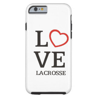Big LOVE Lacrosse Tough iPhone 6 Case