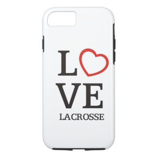 Big LOVE Lacrosse iPhone 7 Case