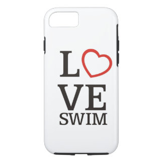 Big LOVE Swim iPhone 8/7 Case