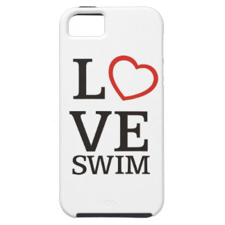 Big LOVE Swim iPhone SE/5/5s Case