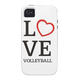 Big LOVE Volleyball Case-Mate iPhone 4 Cover