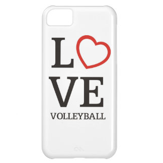 Big LOVE Volleyball Cover For iPhone 5C