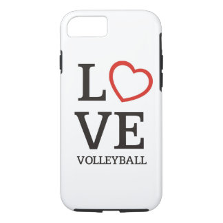 Big LOVE Volleyball iPhone 8/7 Case
