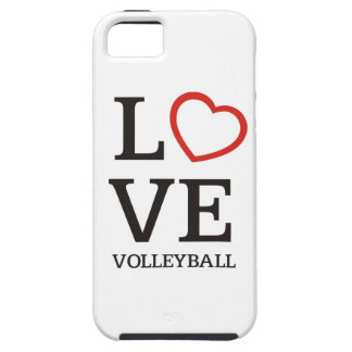 Big LOVE Volleyball iPhone SE/5/5s Case