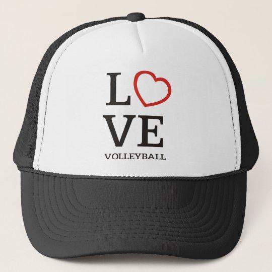 Big LOVE Volleyball Trucker Hat