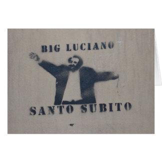 Big Luciano Card