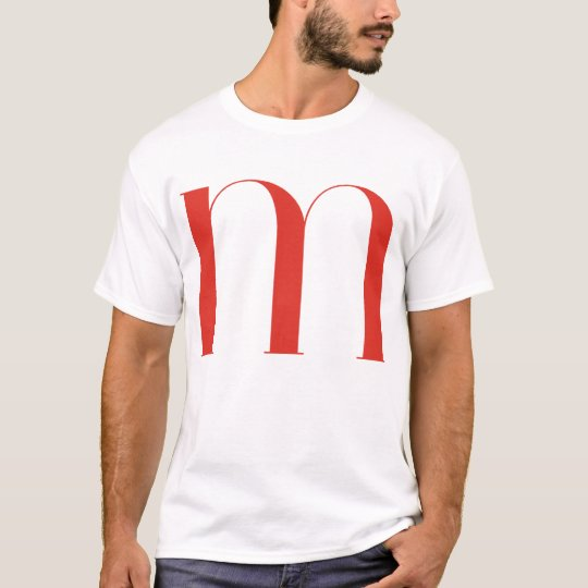 Big M: Jeanne Moderno Lettres T-Shirt