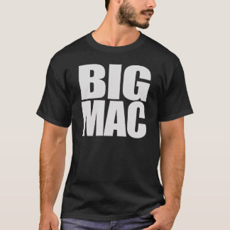 Big Mac cool unique and funny black white T-Shirt