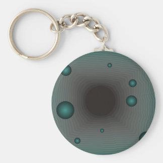 Big Machine wormhole science fiction black hole Keychain