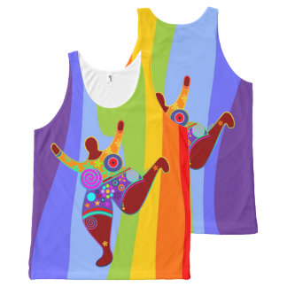 BIG MAMA / POWER WOMAN + your idea All-Over Print Tank Top