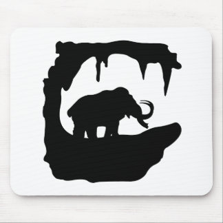 Big Mammoth in his cave Mouse Pad