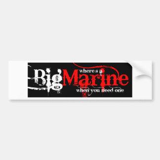 Big Marines! Bumper Sticker