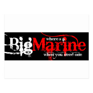 Big Marines! Postcard