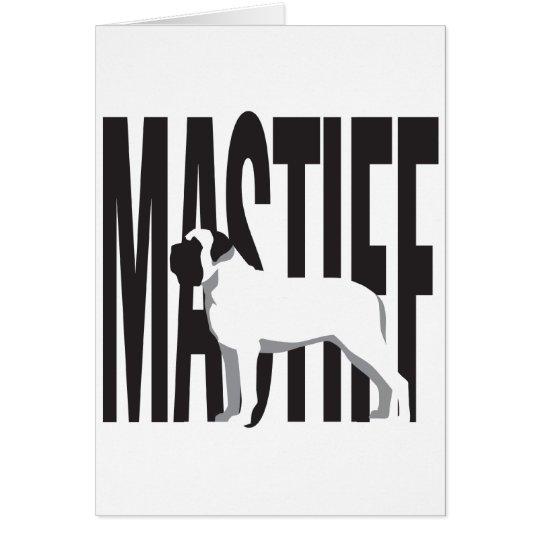 Big MASTIFF Card
