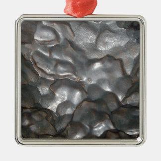 Big_Meteorite_Rock, _ Adorno Navideño Cuadrado De Metal