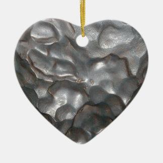 Big_Meteorite_Rock, _ Adorno Navideño De Cerámica En Forma De Corazón