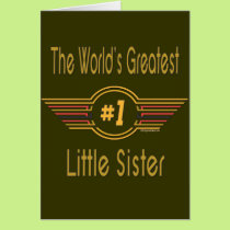 Big, Middle & Little Sister Card