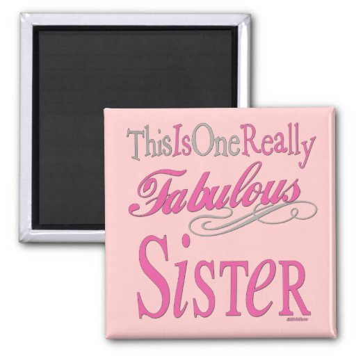 Big, Middle & Little Sisters Magnet