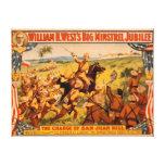 Big Minstrel Jubilee Charge of San Juan Hill Canvas Prints