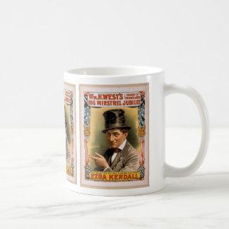Big minstrel Jubilee, 'Ezra kendall' Vintage Theat Classic White Coffee Mug