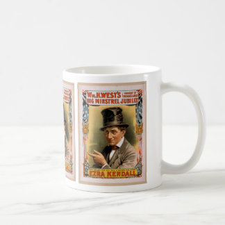 Big minstrel Jubilee, 'Ezra kendall' Vintage Theat Coffee Mug