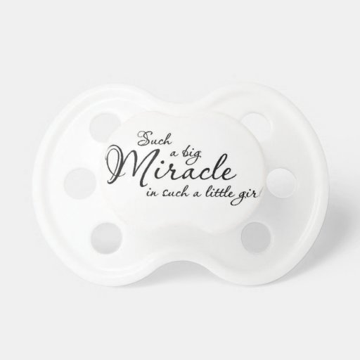 Big Miracle Pacifier