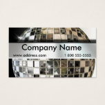 Big Mirror Ball Music Business Cards at Zazzle