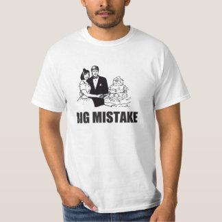 big mistake, marriage t shirt