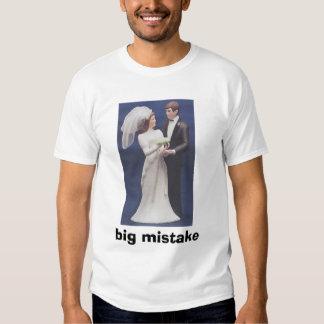 Big Mistake Tee Shirt