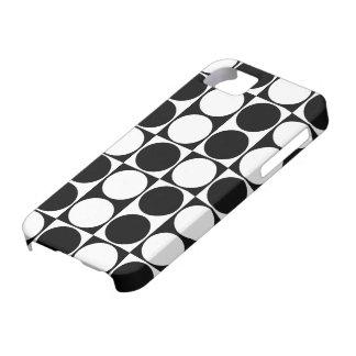 Big Mod Dots Black & White Case-Mate ID™ iPhone 5