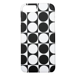 Big Mod Dots Black & White ID™ iPhone 7 case