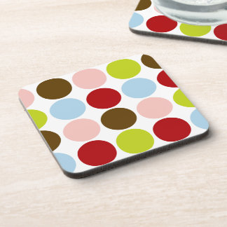 Big Mod Dots Custom Coasters (set of 6)