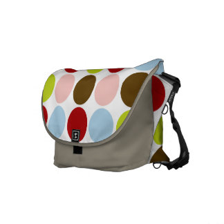 Big Mod Dots Messenger Bag
