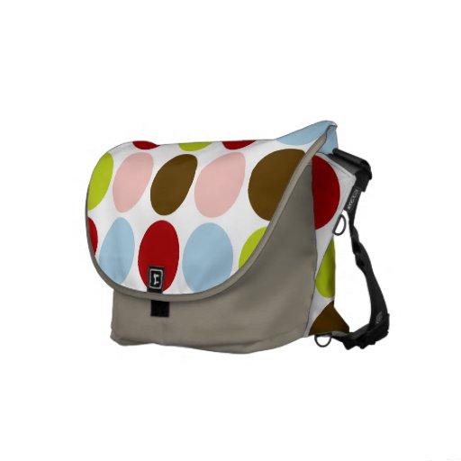 Big Mod Dots Messenger Bag