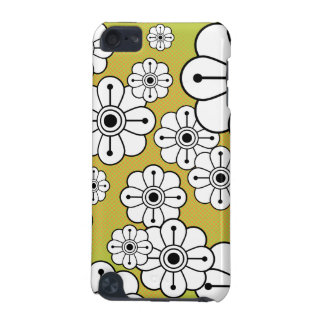 Big Modern Funky Flowers iPod Touch Case