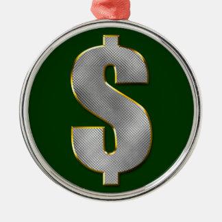 Big Money Metal Ornament
