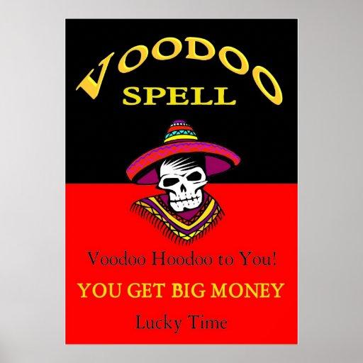 Big Money Voodoo Spell Poster
