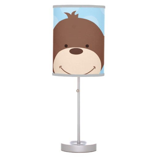 Big Monkey Face Nursery Lamp