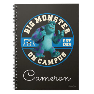 Big Monster on Campus - Personalized Notebook