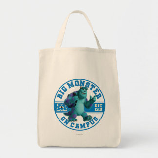 Big Monster on Campus Tote Bag