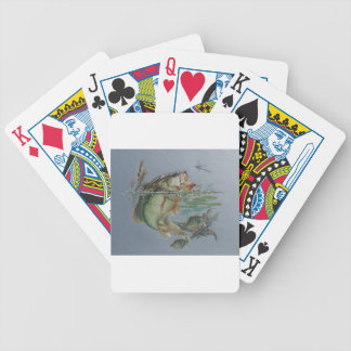 Big Mouth Bass Bicycle Playing Cards