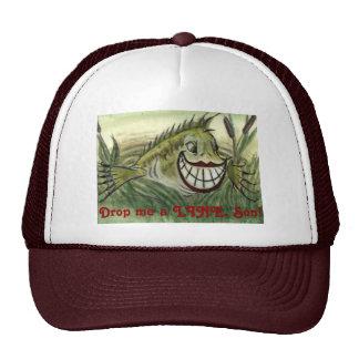 """Big-Mouth Bass"" Fishing Hat"