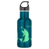 Big Mouth Bass Fishing Water Bottle