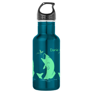 Big Mouth Bass Fishing Water Bottle