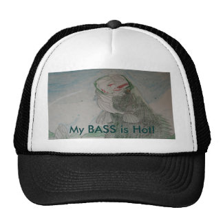 Big Mouth Bass My BASS is Hot! Mesh Hat