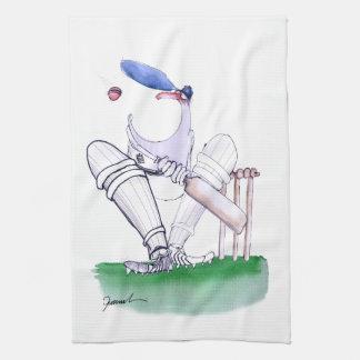 Big Mouth - cricket, tony fernandes Hand Towel
