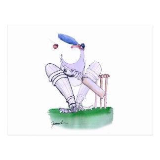 BIG MOUTH - cricket, tony fernandes Postcard