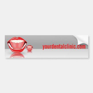 Big Mouth Dental Dentist Bumper Stickers