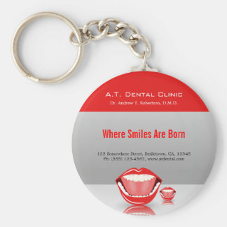 Big Mouth Dental Dentist Promotional Key Chains